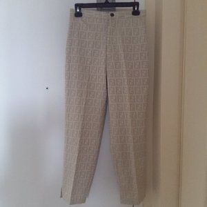 Authentic Fendi Trousers/ Pants in Size 27